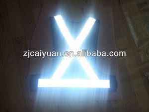 Hi Viz Vest Safety Work Hi Visibility Jacket Waistcoat Reflective Clothing with Reflective Strips - Cycling Visibility