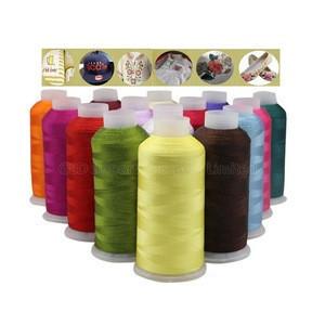 High Tenacity 100D/2 Elastic Nylon Strech Thread Colored 300D/2 420D/3 6.6 Bonded Weaving Yarn Filament 700 Meter Per Spool