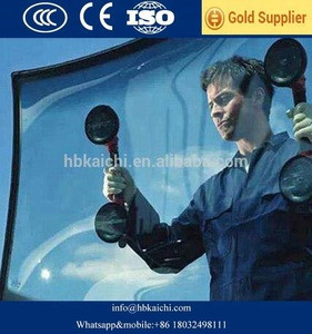 Laminated tempered front windshield glass for auto car bus with CCC CE ISO