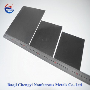made in china wholesale price 0.5mm Tungsten Wolfram Sheet