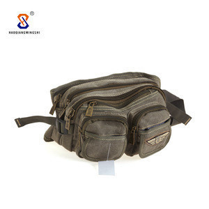 Manufacturers Selling Fanny Pack Canvas Waist Bag For Running Pouch Bag Belt  For Men Belt Pouch
