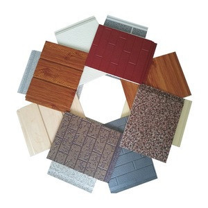 modern style fire resistant relief surface flexible brick soft tile