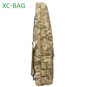 Outdoor Camouflage Military Tactical Gun bag with strap shoulder for AK47 and Hunting