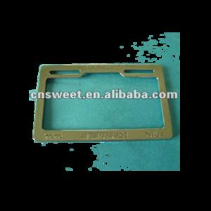 Plastic custom license plate frames