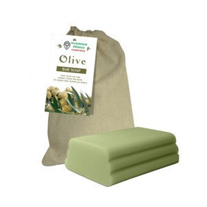 Soap with olive oil for moisturizing