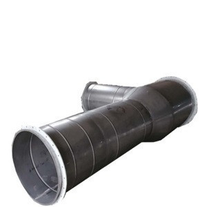 Spiral ventilation pipe stainless steel air duct for inlet air conditioner parts