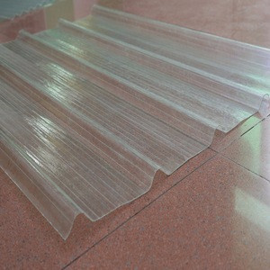 Transparent solid corrugated polycarbonate sheet crystal pc sheet