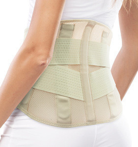 UCHEE Breathable Mesh Compression Lumbar Support Back Brace