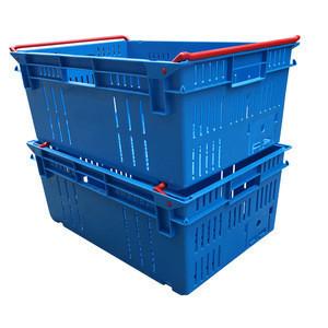 Ventilated vegetables plastic crates sale