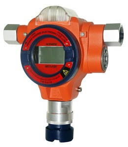 Wall-mounted toxic gas detection H2S gas alarm hydrogen sulfide 1000ppm online detector