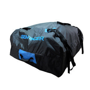 Waterproof 15 Cubic Feet Storage Box Car Roof Top Bag for Travel and Luggage Transportation