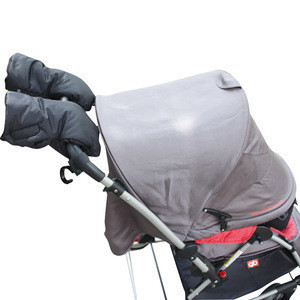 Winter Anti-Freeze Waterproof  Baby Stroller Hand Muff Gloves for Parents and Caregivers