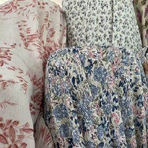 Poly Heavy Chiffon Yoryu Print Woven 108gsm 150cm