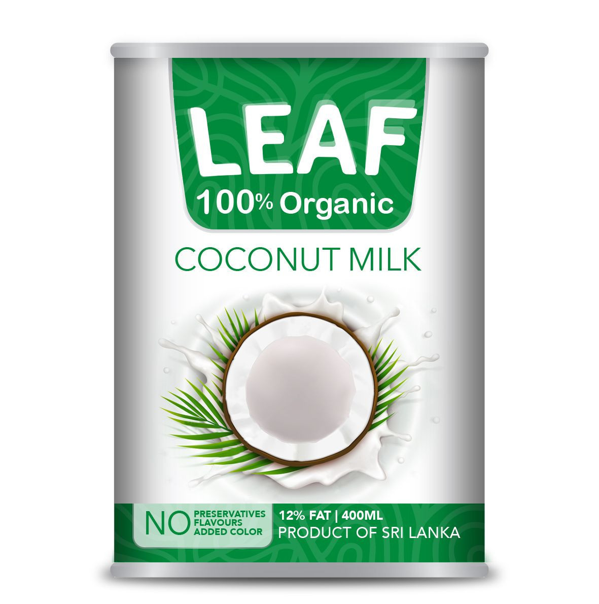 Leaf Organic Coconut Milk