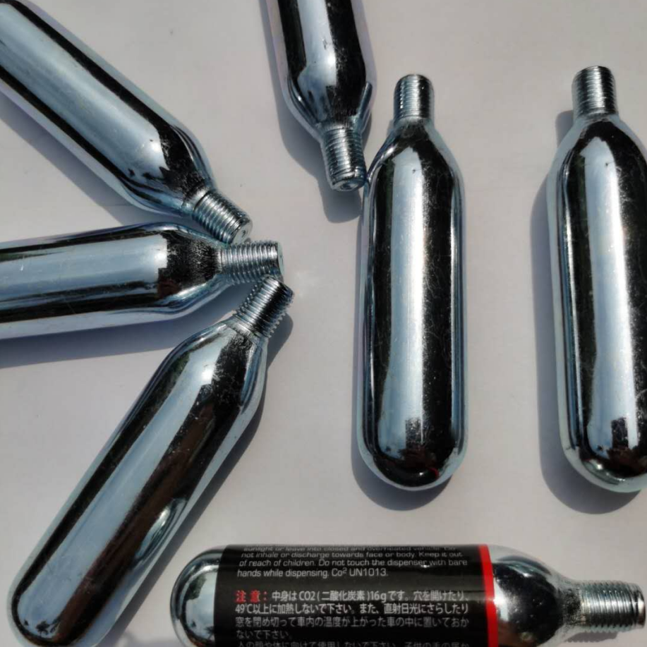 Factory supply Co2 Threaded Cartridge Co2 cartridge 12g 16g
