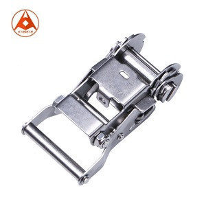 """1-1/2"""" 35mm 2t 4400lbs Stainless Steel SS304 Ratchet Buckle"""