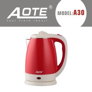 1.8L stainless steel and plastic electrical kettles