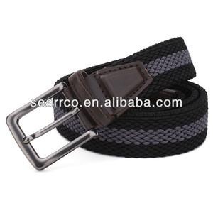 2015 Fashion Braided elastic belt knitting woven belt
