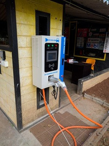 20KW wall mounted EV fast charging station with CHAdeMo protocol