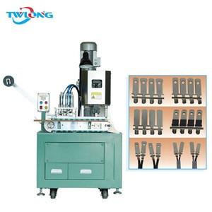 Automatic striper crimper wire terminal machine