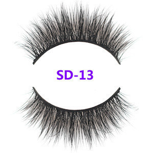 Best selling products 3d mink lashes self adhesive eyelashes packaging false hot 2018