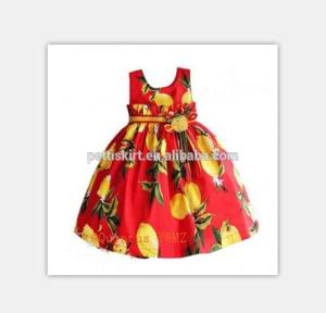 Cheap Sale Fruits Unique Names Photos Vintage Dress Frock Design For Kids Girl