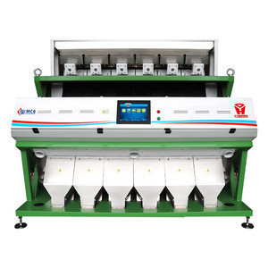 China High Performance CCD Color Sorter For Lima Bean