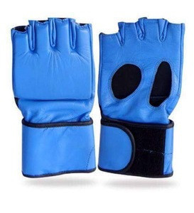 Customized design high quality leather  MMA boxing gloves kick boxing mma gloves