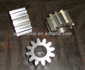 Customized precision nitriding spur machinery gears
