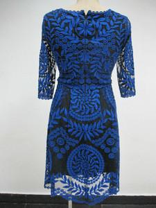 D9892 The bridesmaid crochet dress