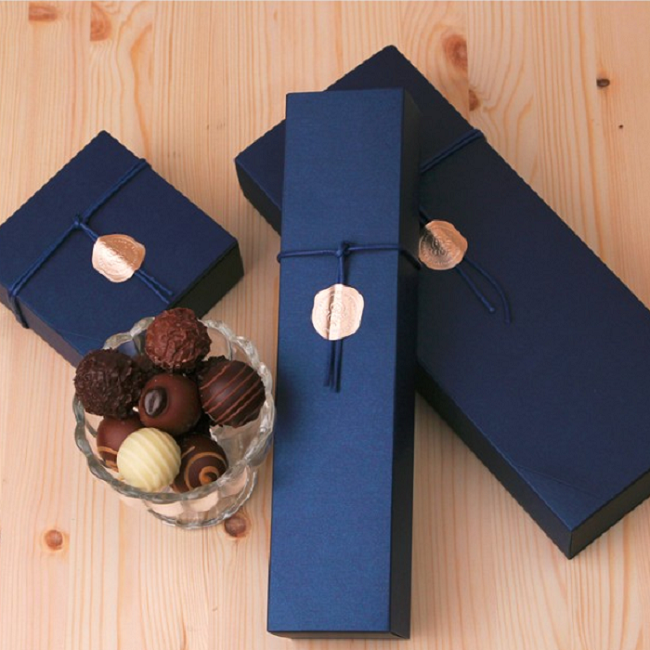 eco friendly biodegradable  chocolate packaging truffles packaging