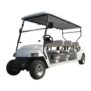 Electric golf cart AW2064K six passengers high quality golf buggy