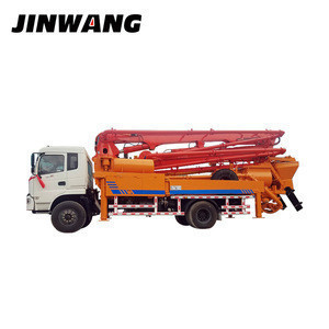 Engineering used concrete cement boom car pump truck from China Supplier