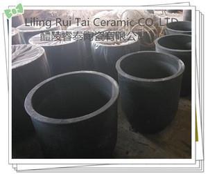 Factory price refractory silicon carbide sagger SiC graphite crucible