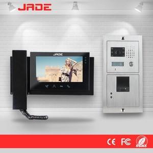 Fingerprint Unlock Video Intercom Camera with Access Control