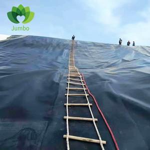 Fish Farm Pond Lineer High Tensile Strength HDPE Geomembrane