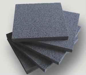 Foamed ceramic insulation boards
