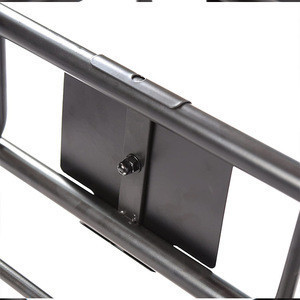 HOMFUL Black Car Roof Rack Cargo Basket Carrier Rack Universal Roof Rack