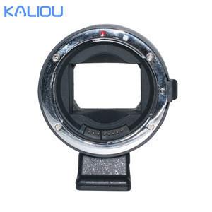 Kaliou Auto Focus Lens EF-NEXIV with USB Upgrade Port Lens Adapter For Canon Lens to Snoy E-Mount Camera Photo Accessories