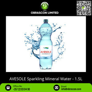 Large Supply of 1.5L Bottle Packaging of Natural Sparkling Mineral Water