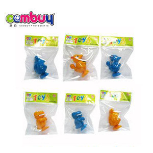 Latest plastic cartoon animal wind up tin toys