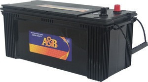 N165MF OEM Producing Heave Duty 12V 165Ah Truck Batteries