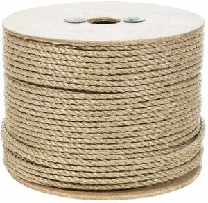 Natural Colored 6mm 8mm Jute Rope Roll shibari rope jute shibari Jute Twine Ball braided  hemp rope for Gift Packing