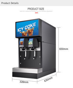 New fashion espresso coffee vending machine two tastes beverage vending machine