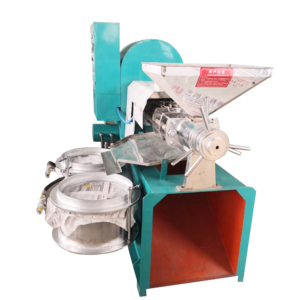 New full-automatic Screw press TZ-60 cold and hot Dual-purpose screw press small commercial use Peanut Soybean Oil press