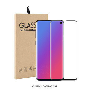New Full Cover 9H 3D Curved Hardness Tempered Glass For Samsung Galaxy S10 Screen Protector