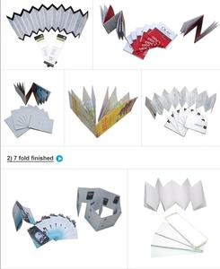 Post Press equipment automatic paper folding machine professional supplier