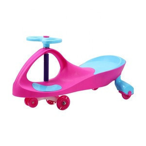 PU Wheel Adult Children Kids Magic Tricycle Ride On Baby Baby Swing Car Toy For Kids