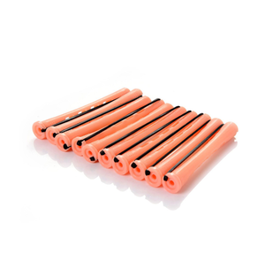 Salon Plastic rubber band Hair Rollers Set Cold Perm Rods Curler Bars Hair Clip Curling Fluffy Wavy Hair Styling DIY
