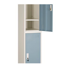 School Furniture 2 Doors Metal Locker For Dormitory Outdoor Sports Storage Metal Cabinet High Quality  Environmental Protection